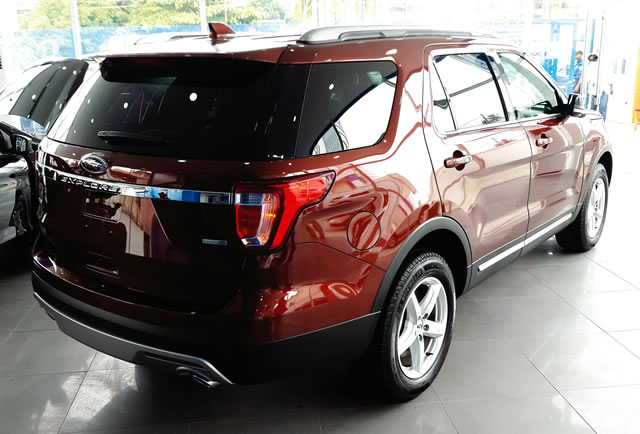 coscharis launches 2016 explorer with four year ford protect punch. Cars Review. Best American Auto & Cars Review