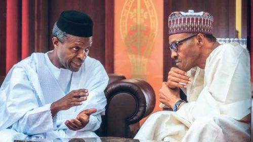 Image result for OSINBAJO AND BUHARI