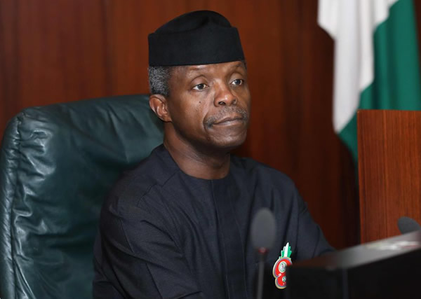 Image result for We have confidence in Osinbajo – US, UK