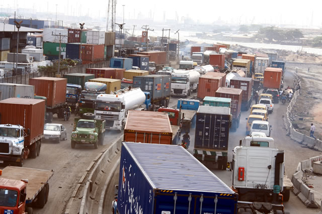 Image result for Apapa gridlock: Group recommends 24-hour traffic control.