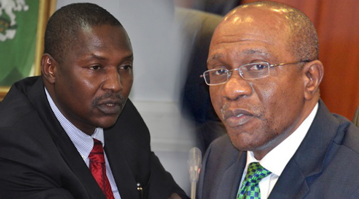 Image result for Malami, Emefiele