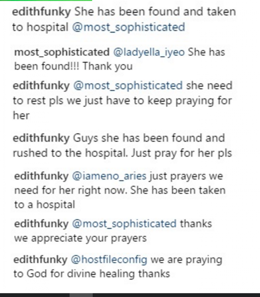 Lady who threatens to commit suicide on Instagram gets help
