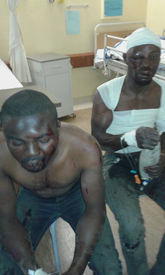 Two Nigerians nearly beaten to death in South Africa