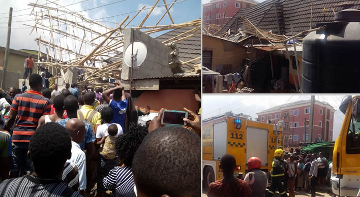 19 persons rescued from Lagos collapsed building, three dead