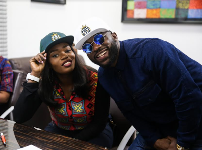 #BBNaija: Bisola joins Mavins, others at TMC (photos)