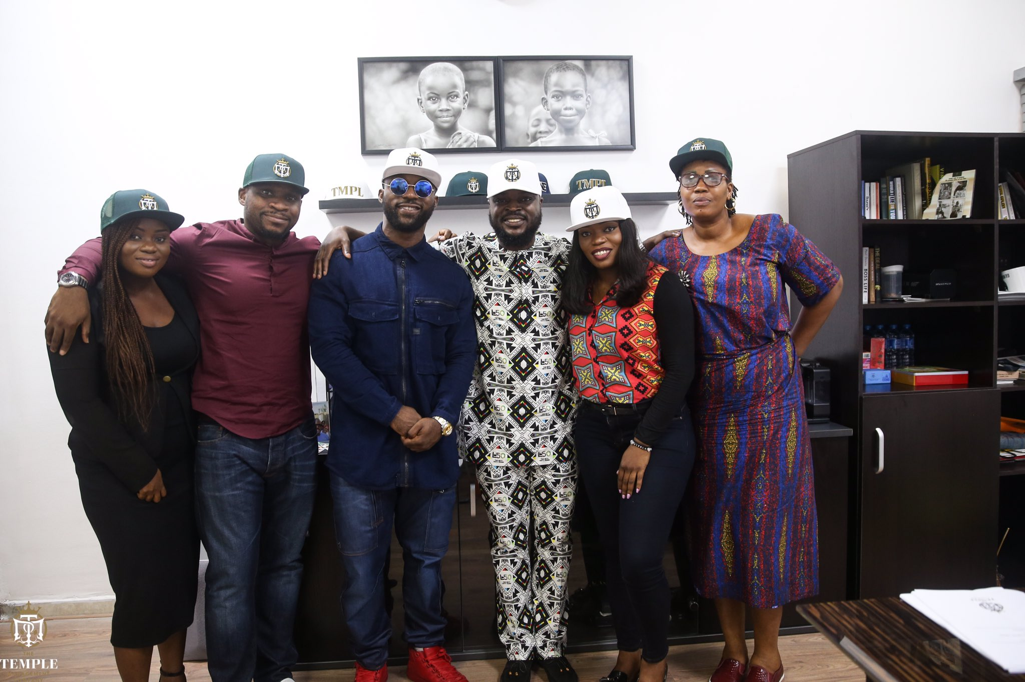 Image result for #BBNaija: Bisola joins Mavins, others at TMC (photos)
