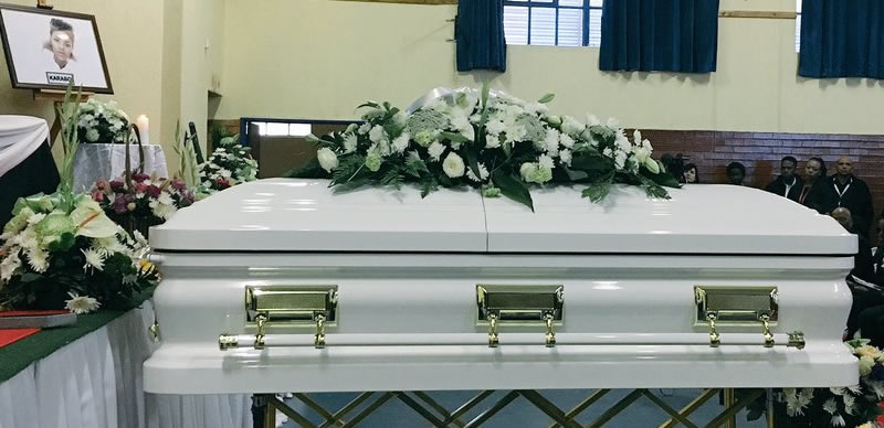Girl allegedly murdered by evangelist she dated for seven months, buried amid tears