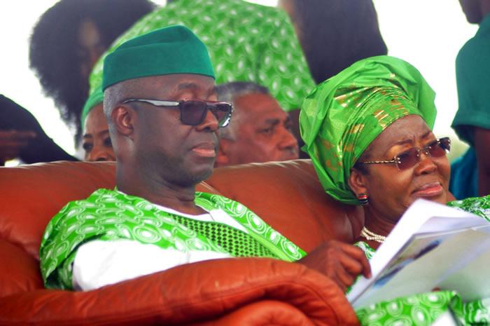 PHOTOS: Ekiti stands still as Adebayo is buried