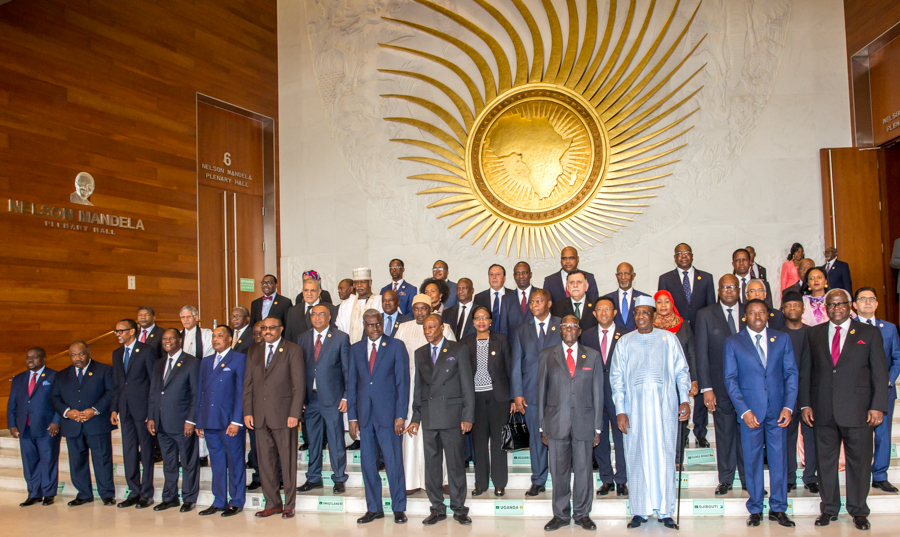 Buhari takes anti-corruption, terrorism fight to AU summit