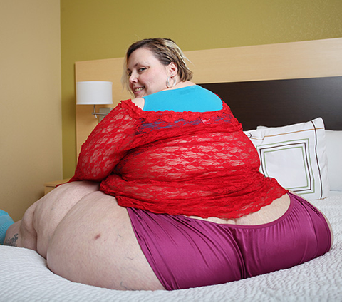 'I want to be remembered for having world's biggest hips'