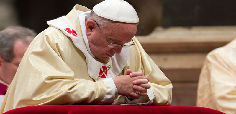 'Lead us not into temptation' not appropriate translation, Pope says