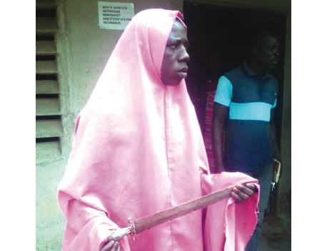 Wearing Hijab Makes Robbery Easy for Me - Arrested Suspect