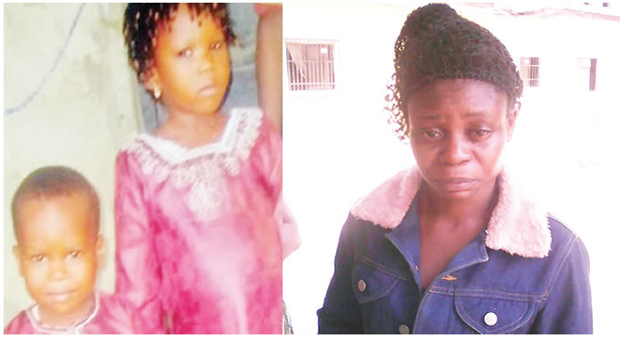 Image result for Lagos hairdresser attempts suicide thrice over abducted children…husband accuses police of frustrating family