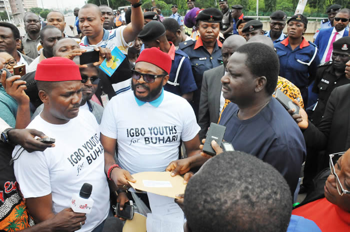 PHOTOS: South-East youths hold rally for Buhari