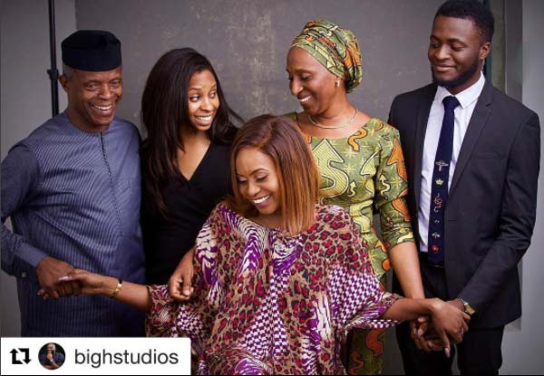The Osinbajo's