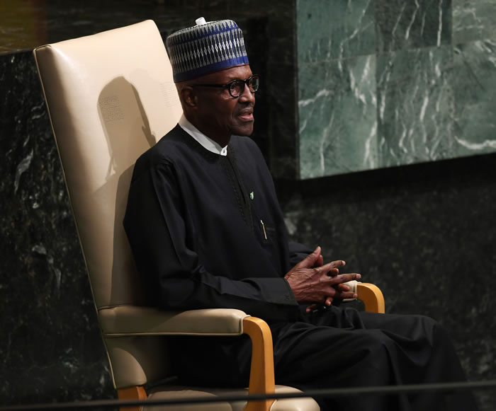 PHOTOS: Buhari addresses United Nations General Assembly