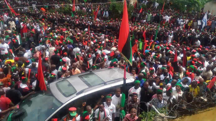 Terrorist tag: IPOB alleges FG's plot to frustrate appeal – Punch Newspapers