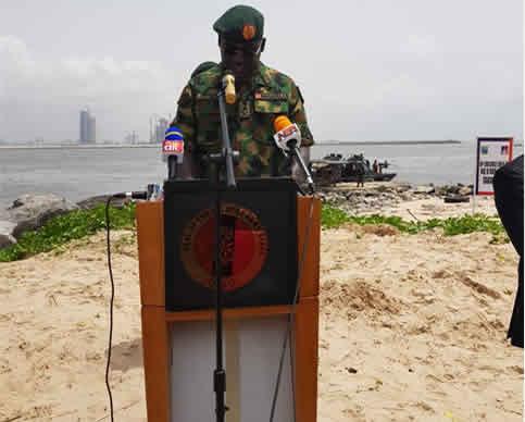 PHOTOS: Army begins 'Operation Crocodile Smile II' in Lagos