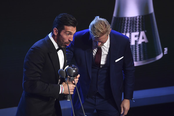 2017 Best FIFA Football Awards in pictures