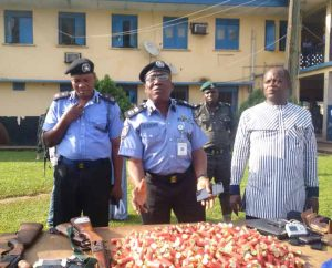 PHOTOS: Edo police parade 31 suspected criminals