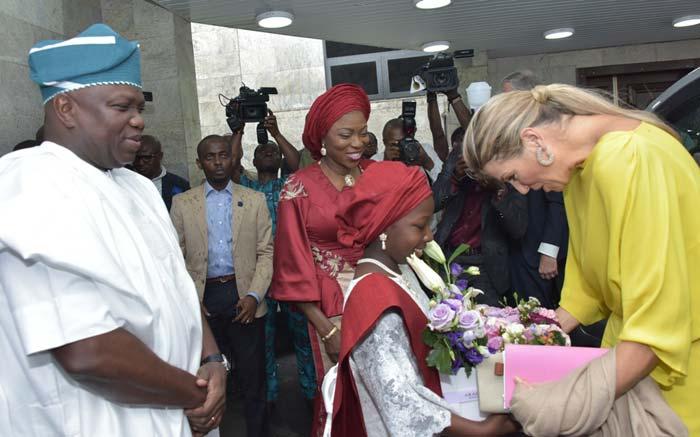 PHOTOS: Lagos welcomes Queen Maxima Zorreguietta Cerruti of Netherlands