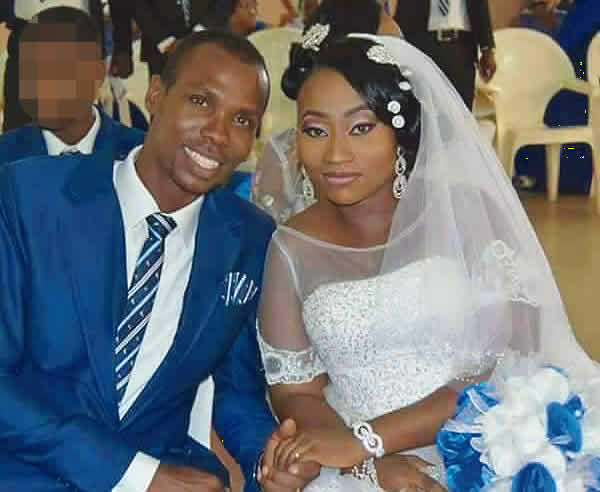 Leg of newlywed man shot by fighting policemen amputated •Unemployed wife cries for justice  •Police keep mum