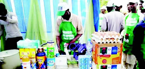 Ganduje buys N208m noodles, others to empower tea sellers