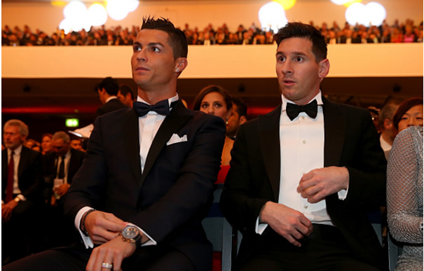 Ronaldo, Messi make Team of the Year