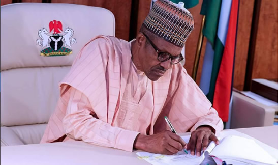 Image result for Buhari writes Senate for confirmation of 10 CCB nominees