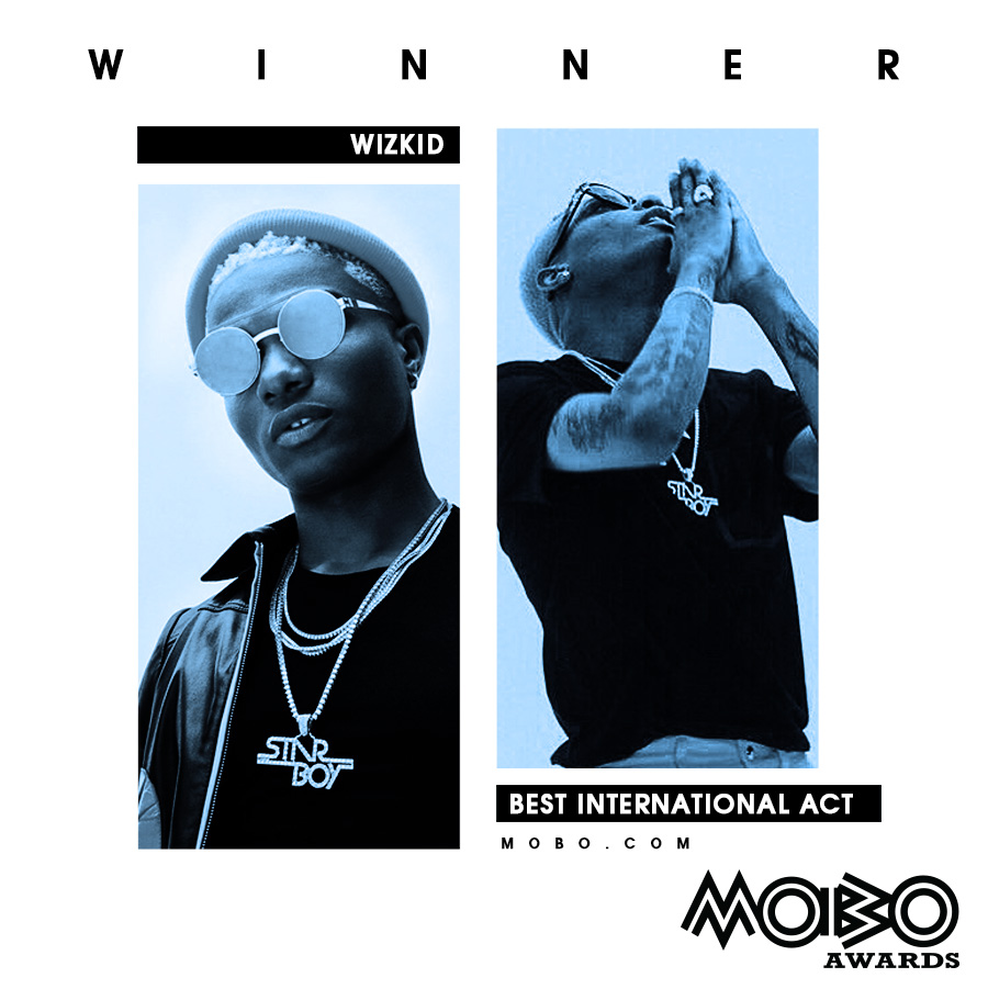 Davido, Wizkid beat international rivals to win MOBO