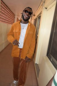 Robbery: Burna Boy submits self to police, to be charged to court Monday