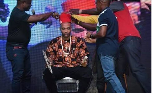 PHOTOS: Henry Thiery crowned 'Igwe of football'