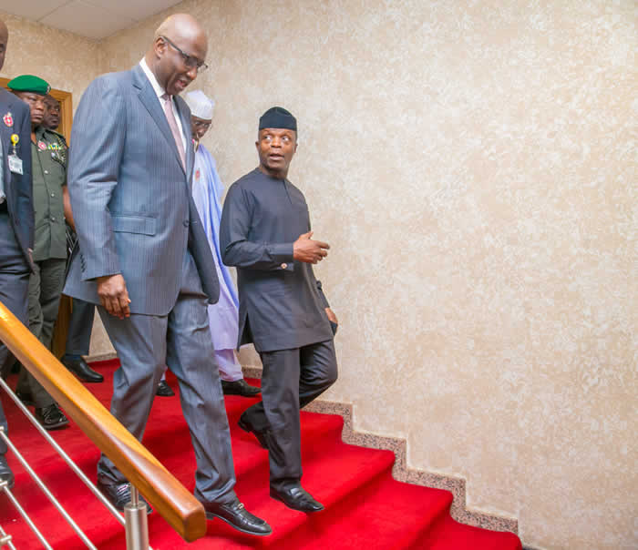 PHOTOS: Osinbajo declares SGF, SSGs' retreat open