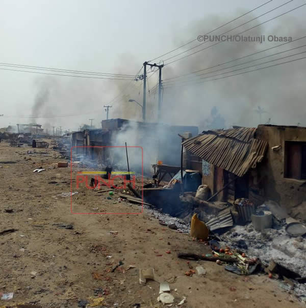 PHOTOS: Aftermath of Hausa, Gwari clash in Abuja