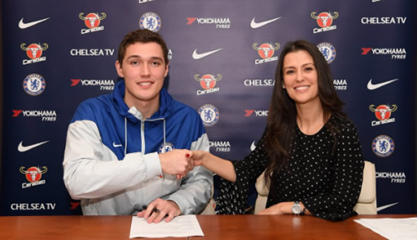 Christensen signs new long-term contract with Chelsea