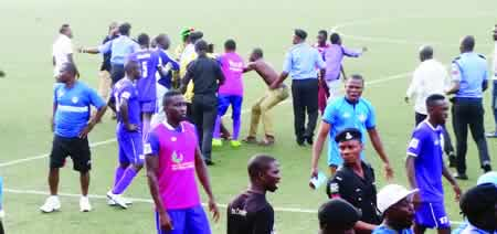 Violence, officiating raise concerns in new NPFL season
