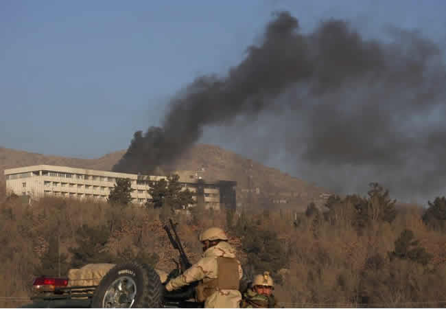 Kabul attack: All gunmen killed, 18 dead, 100 hostages rescued