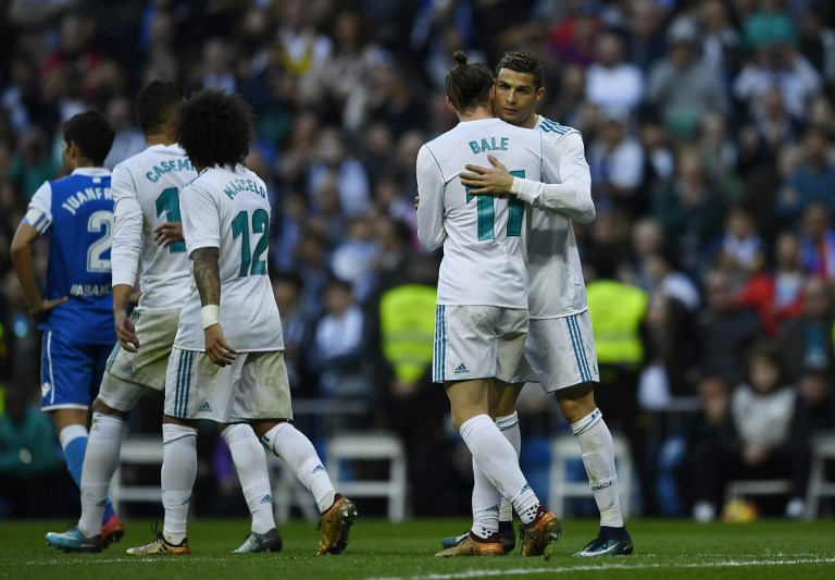 Real hit back at crisis talk, beat Deportivo 7-1