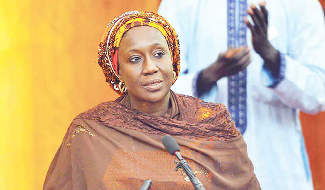 Image result for The document, which was launched in Abuja by the Minister of State for Industry, Trade and Investment, Mrs. Aisha Abubakar