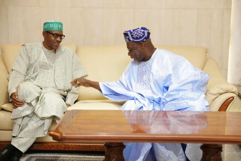 Image result for picture of obasanjo and buhari