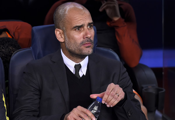 Guardiola challenges Man City players after Anfied pain