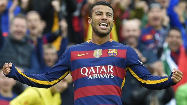 Barca loan Rafinha to Inter Milan