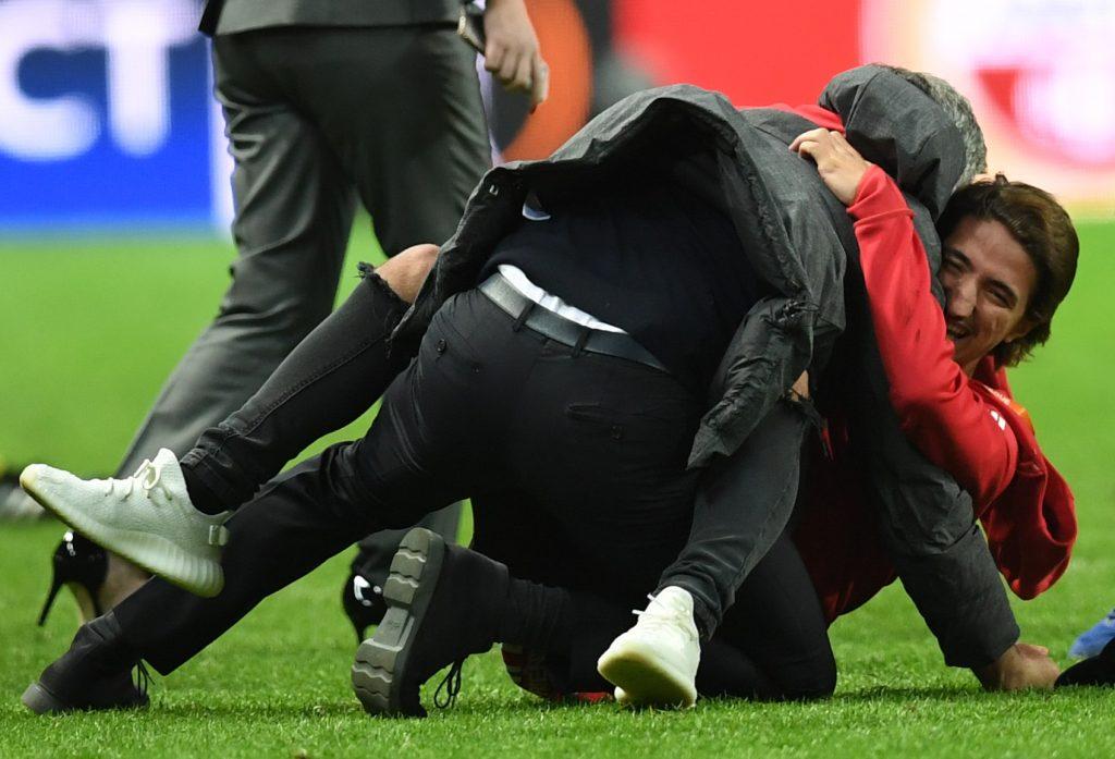 PHOTOS: Jubilation as Man Utd lift Europa Cup