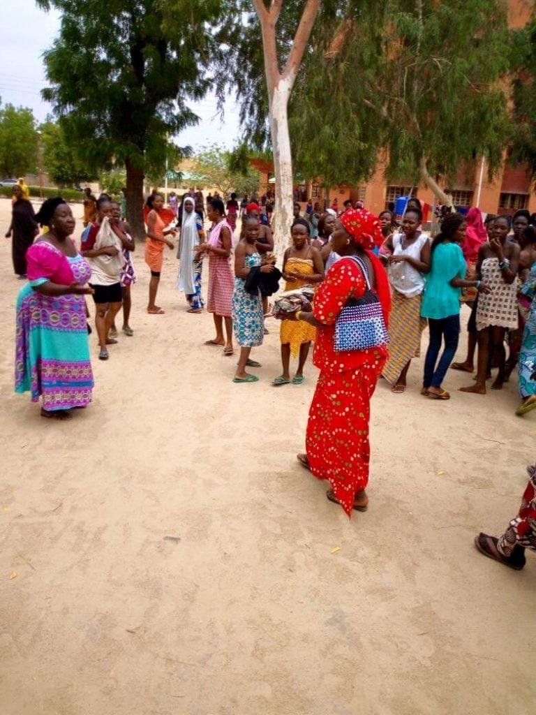 PHOTOS: Baby found dead in UNIMAID female toilet