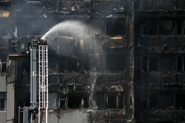 Pain And Sorrow As Fire Razes London Tower (See Photos)