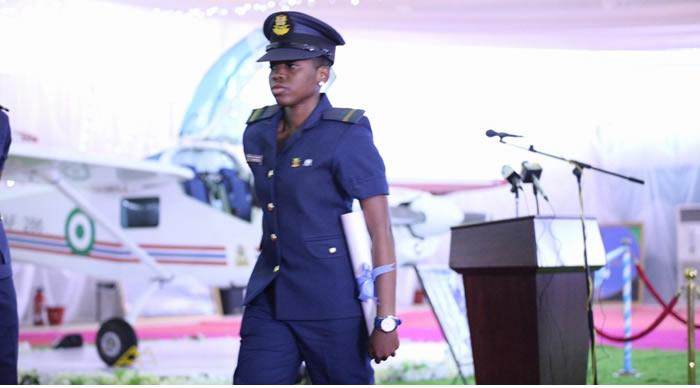 Image result for 22-year-old girl becomes NAF's best flying student