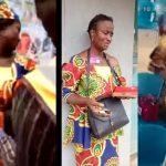 VIDEOS: Woman caught on CCTV stealing handbag at RCCG