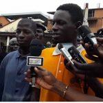 Thief congratulates police for arresting him