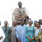 Ambode unveils 20-feet Awo statue