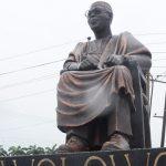 PHOTOS: Ambode unveils 20-feet Awo statue